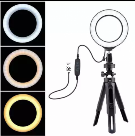 Classified Ads In Nigeria, Best Post Free Ads - 6-inches-ring-light-with-dimmable-light-in-ojo-lagos-for-sale-big-0