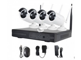 4 Channel Wireless NVR Kit in Kaura, (Abuja) FCT for Sale