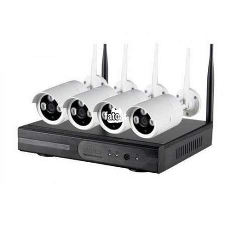 Classified Ads In Nigeria, Best Post Free Ads - 4-channel-wireless-nvr-kit-in-kaura-abuja-for-sale-big-1