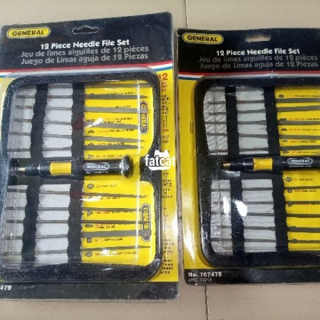 Classified Ads In Nigeria, Best Post Free Ads - 12-piece-swiss-pattern-needle-file-sets-in-port-harcourt-rivers-for-sale-big-0