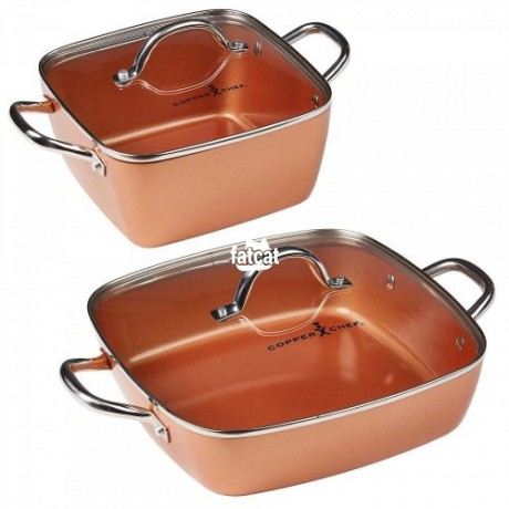 Classified Ads In Nigeria, Best Post Free Ads - copper-chef-pan-in-lagos-lagos-for-sale-big-0