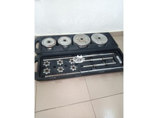 50kg Barbell and Dumbbells in Lagos for Sale