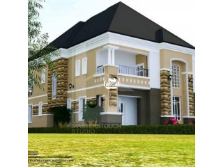 5 Bedroom Duplex Plot for sale at Excellent Mega City Estate Beside River Park Estate Airport Road Lugbe Abuja