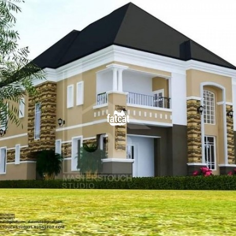 Classified Ads In Nigeria, Best Post Free Ads - 5-bedroom-duplex-plot-for-sale-at-excellent-mega-city-estate-beside-river-park-estate-airport-road-lugbe-abuja-big-0