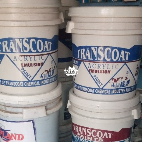Classified Ads In Nigeria, Best Post Free Ads - transcoat-acrylic-emulsion-paint-in-karu-abuja-for-sale-big-0