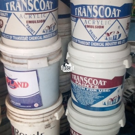 Classified Ads In Nigeria, Best Post Free Ads - transcoat-acrylic-emulsion-paint-in-karu-abuja-for-sale-big-1