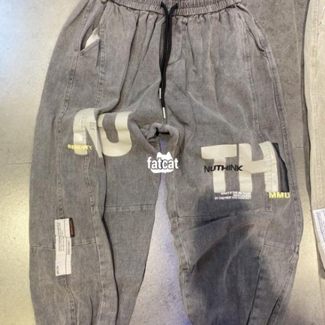 Classified Ads In Nigeria, Best Post Free Ads - quality-mens-joggers-trousers-in-mararaba-abuja-for-sale-big-2