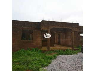 Uncompleted 4 Bedroom Bungalow in Abuja, FCT for Sale