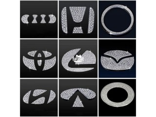 Vehicle Steering Wheel Center Logo Diamond Sticker in Ikorodu, Lagos for Sale