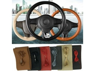 Car Maker Original Soft Leather Steering Wheel Cover DIY in Ikorodu, Lagos for Sale