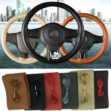 Classified Ads In Nigeria, Best Post Free Ads - car-maker-original-soft-leather-steering-wheel-cover-diy-big-0