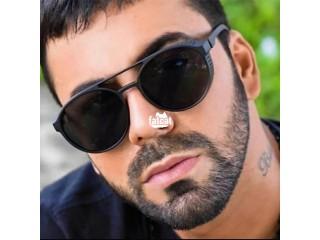 MEN Punk Retro Sunglasses Designer Goggles / Glasses