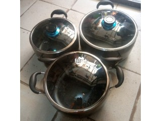 KinelCo Non-stick Belly Shape Cookware Set in Utako, (Abuja) FCT for Sale.