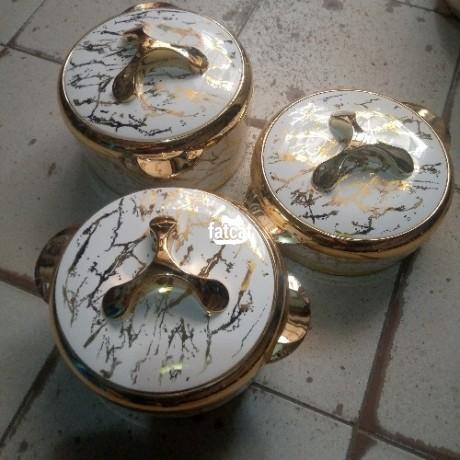 Classified Ads In Nigeria, Best Post Free Ads - vtcl-triyo-ceramic-gold-insulated-casserole-in-utako-abuja-for-sale-big-0