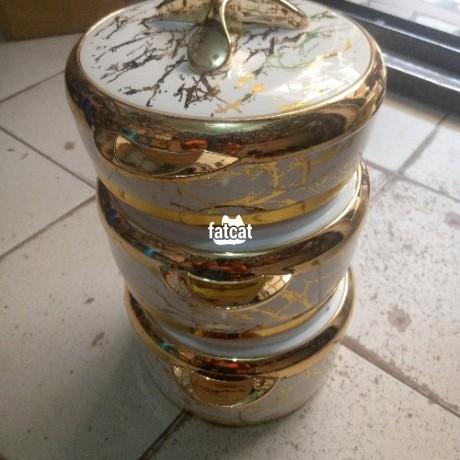 Classified Ads In Nigeria, Best Post Free Ads - vtcl-triyo-ceramic-gold-insulated-casserole-in-utako-abuja-for-sale-big-1