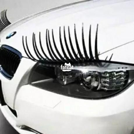 Classified Ads In Nigeria, Best Post Free Ads - car-headlamp-fake-eyelashes-stickers-big-1