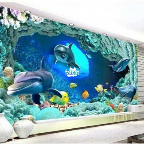 Classified Ads In Nigeria, Best Post Free Ads - 8d-mural-korean-wall-designs-in-osogbo-osun-for-sale-big-1