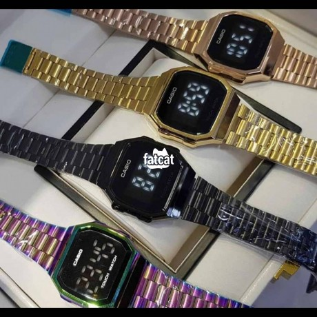 Classified Ads In Nigeria, Best Post Free Ads - casio-touch-screen-wristwatch-in-lagos-island-lagos-for-sale-big-2