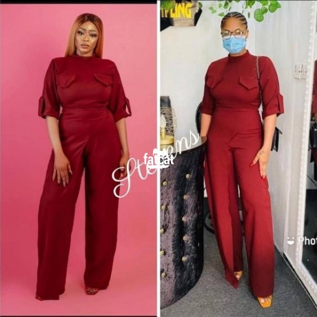 Classified Ads In Nigeria, Best Post Free Ads - ladies-jumpsuit-in-lagos-island-lagos-for-sale-big-2