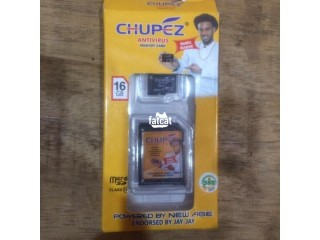 16GB Chupez Memory Card in Wuse, Abuja for Sale