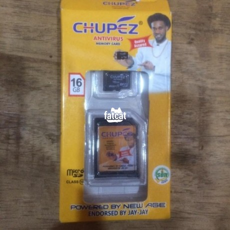 Classified Ads In Nigeria, Best Post Free Ads - 16gb-chupez-memory-card-in-wuse-abuja-for-sale-big-0