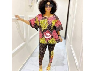 Adire Top and Leggings in Magodo, Lagos for Sale