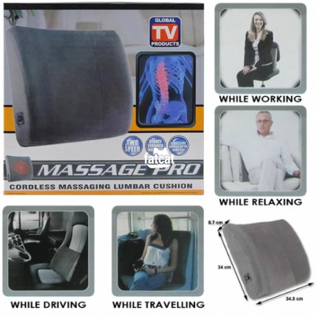 Classified Ads In Nigeria, Best Post Free Ads - massage-pro-cordless-cushion-in-alimosho-lagos-for-sale-big-0