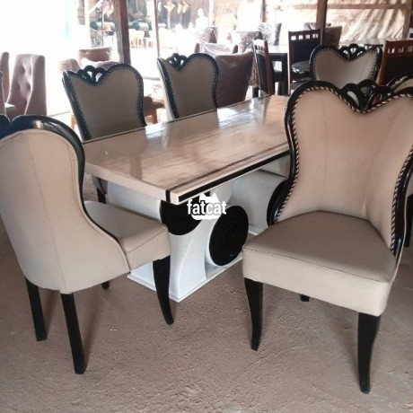 Classified Ads In Nigeria, Best Post Free Ads - 6-man-dining-set-in-karmo-abuja-for-sale-big-0
