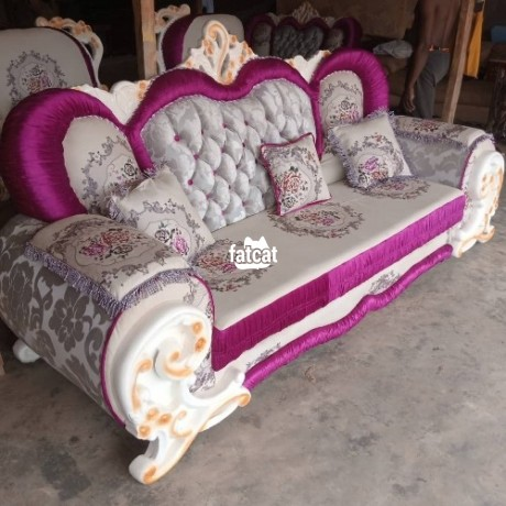 Classified Ads In Nigeria, Best Post Free Ads - 7-seater-set-of-sofa-in-karmo-abuja-for-sale-big-0