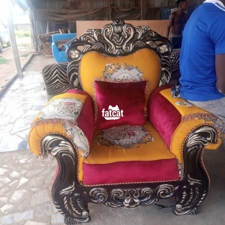 Classified Ads In Nigeria, Best Post Free Ads - 7-seater-set-sofa-chairs-in-karmo-abuja-fct-for-sale-big-1
