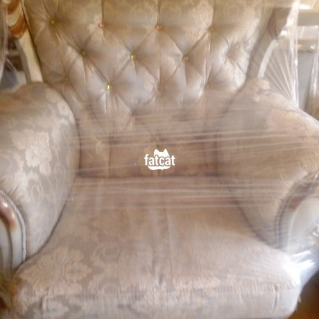 Classified Ads In Nigeria, Best Post Free Ads - royal-sofa-chair-7-seater-in-karmo-abuja-for-sale-big-1