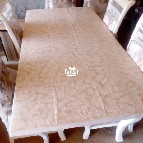 Classified Ads In Nigeria, Best Post Free Ads - 6-seater-dining-table-set-in-karmo-abuja-fct-for-sale-big-1