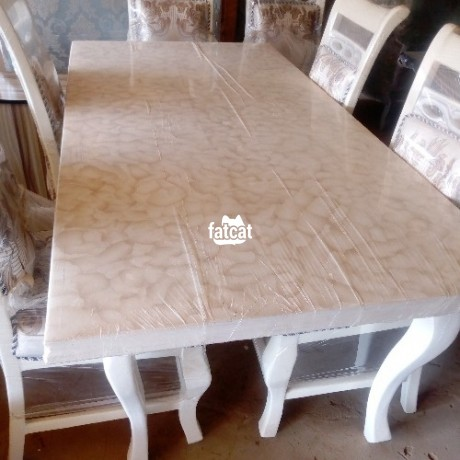 Classified Ads In Nigeria, Best Post Free Ads - 6-seater-dining-table-set-in-karmo-abuja-fct-for-sale-big-0