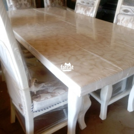 Classified Ads In Nigeria, Best Post Free Ads - 6-seater-dining-table-set-in-karmo-abuja-fct-for-sale-big-3