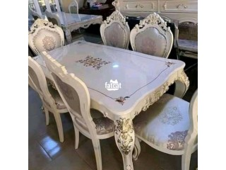 6 Man Seater Dining Table Set in Karmo, Abuja for Sale