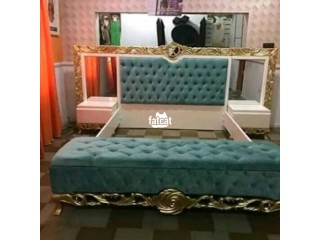 King's Padded Bed in Karmo, Abuja for Sale