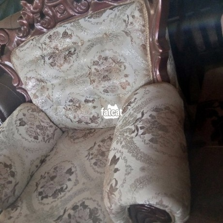 Classified Ads In Nigeria, Best Post Free Ads - 7-seater-set-of-royal-chairs-in-karmo-abuja-for-sale-big-1