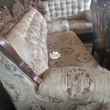 Classified Ads In Nigeria, Best Post Free Ads - 7-seater-set-of-royal-chairs-in-karmo-abuja-for-sale-big-0