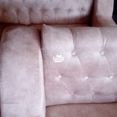 Classified Ads In Nigeria, Best Post Free Ads - 7-seater-standard-sofa-chair-in-karmo-abuja-for-sale-big-1