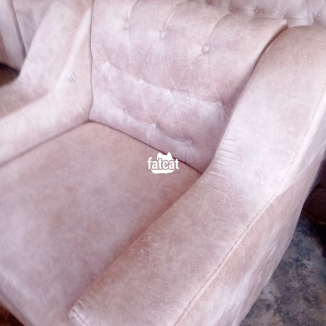 Classified Ads In Nigeria, Best Post Free Ads - 7-seater-standard-sofa-chair-in-karmo-abuja-for-sale-big-0