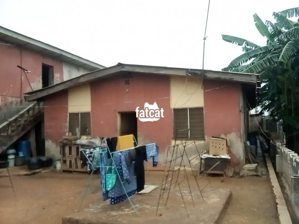 Classified Ads In Nigeria, Best Post Free Ads - property-consisting-of-4-units-of-room-and-parlour-two-shops-12-single-rooms-with-a-general-kitchen-and-bathrooms-big-1