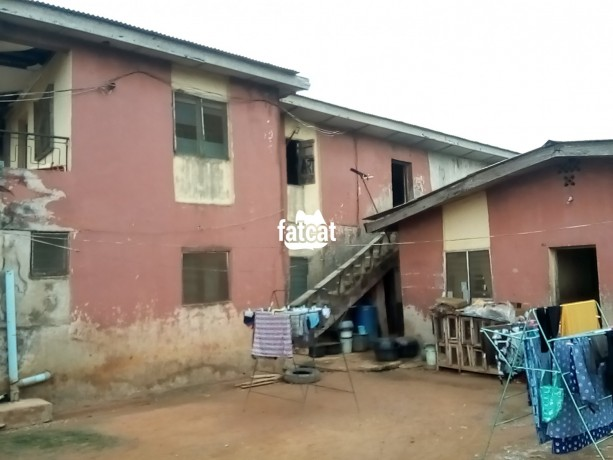 Classified Ads In Nigeria, Best Post Free Ads - property-consisting-of-4-units-of-room-and-parlour-two-shops-12-single-rooms-with-a-general-kitchen-and-bathrooms-big-0