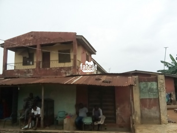 Classified Ads In Nigeria, Best Post Free Ads - property-consisting-of-4-units-of-room-and-parlour-two-shops-12-single-rooms-with-a-general-kitchen-and-bathrooms-big-2