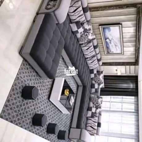 Classified Ads In Nigeria, Best Post Free Ads - 9-seaters-u-shape-chair-set-in-karmo-abuja-fct-for-sale-big-0