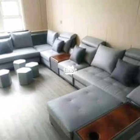 Classified Ads In Nigeria, Best Post Free Ads - 8-seaters-set-of-u-shape-chairs-in-karmo-abuja-for-sale-big-0