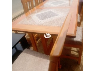 6 Seater Dining Table Set in Abuja, FCT for Sale