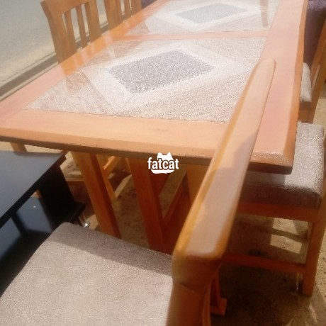 Classified Ads In Nigeria, Best Post Free Ads - 6-seater-dining-table-set-in-abuja-for-sale-big-0
