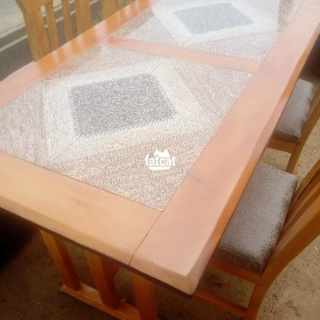 Classified Ads In Nigeria, Best Post Free Ads - 6-seater-dining-table-set-in-abuja-for-sale-big-1