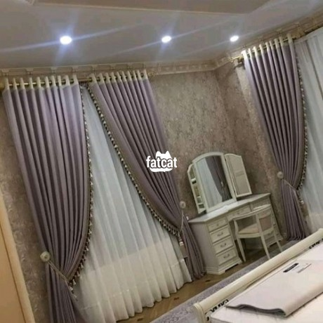Classified Ads In Nigeria, Best Post Free Ads - curtains-in-wuse-abuja-for-sale-big-0