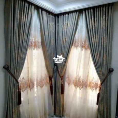 Classified Ads In Nigeria, Best Post Free Ads - curtains-in-wuse-abuja-for-sale-big-1